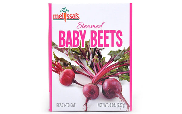 Steamed Baby Beets
