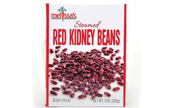 Steamed Red Kidney Beans