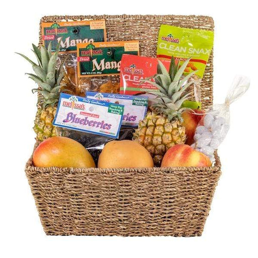 Image of  Add Wine Good As Gold Basket Gifts