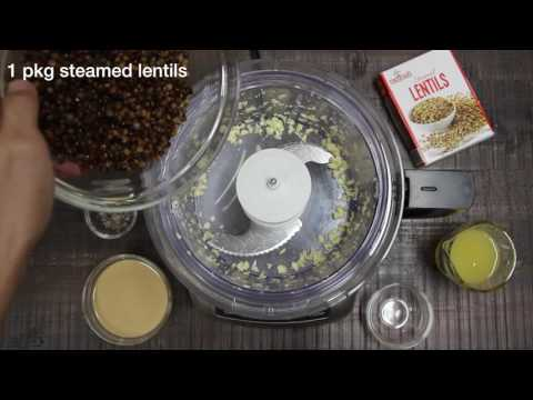 How to Make Hummus | Lentil Hummus Recipe