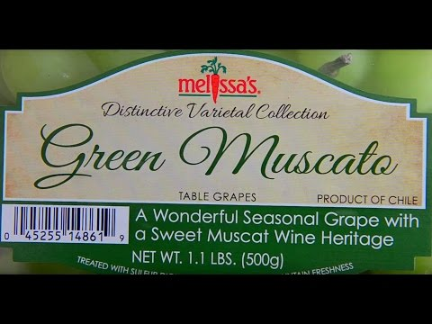 Melissa's Muscato Grapes