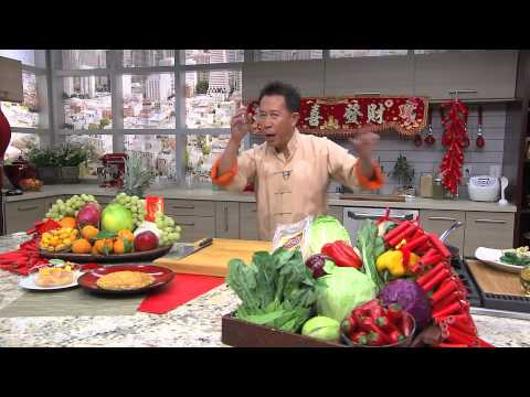 Martin Yan - How to Make Fresh Noodles with Bok Choy