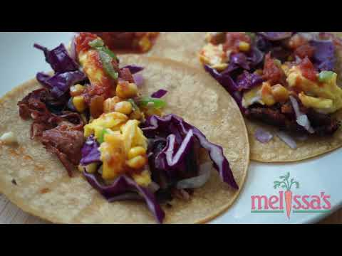 Melissa's Breakfast Egg Tacos