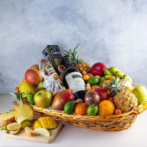 Image of  A Dream Come True - Wine Gift Basket Gifts