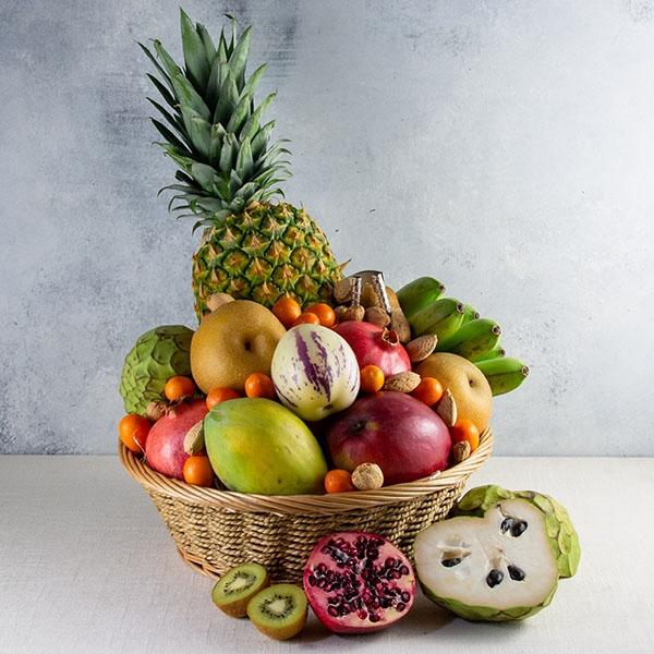 Image of  Exotic Centerpiece Basket Gifts