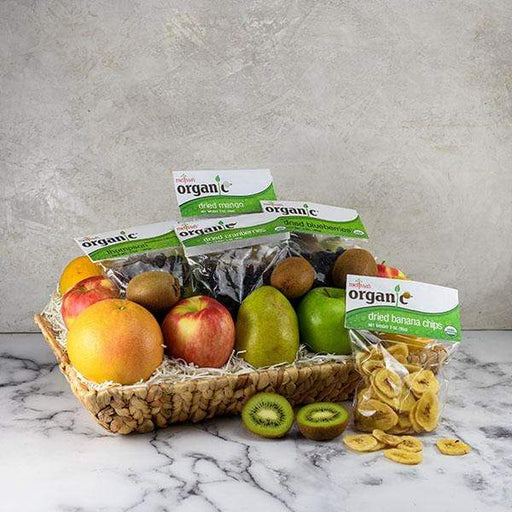 Image of  Fresh and Dried Organics Basket Gifts