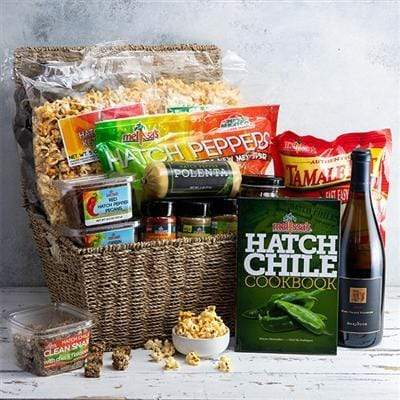 Image of  Hatch Pepper and Viognier Basket Gifts