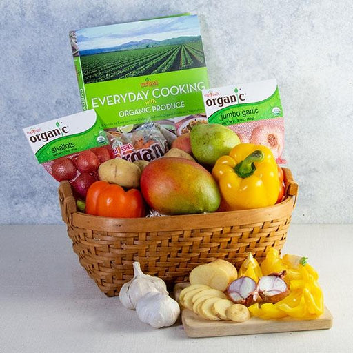 Image of  Melissa's Everyday Cooking with Organic Produce Basket Gifts