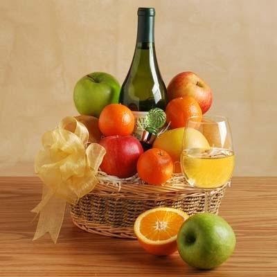 Image of  Melissa's Reserve Wine Basket Gifts