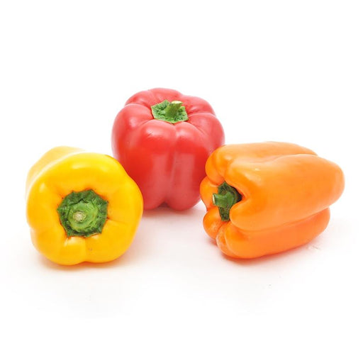 Image of  Organic Tri-color Bell Peppers Vegetables
