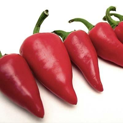 Image of  Red Fresno Peppers Vegetables