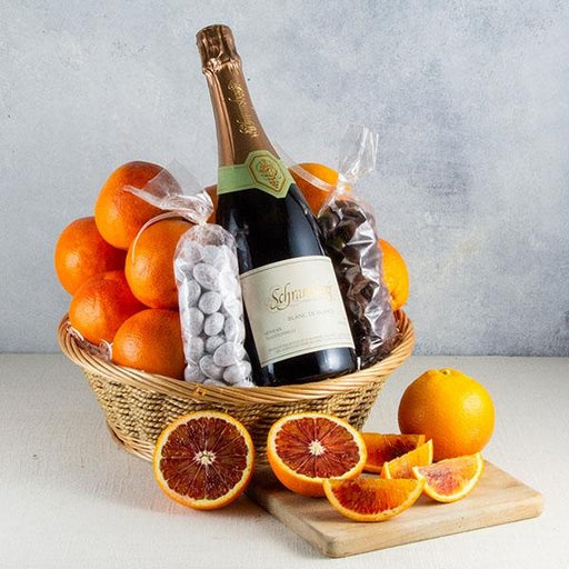 Image of  Sparkling Sweetheart Basket Gifts