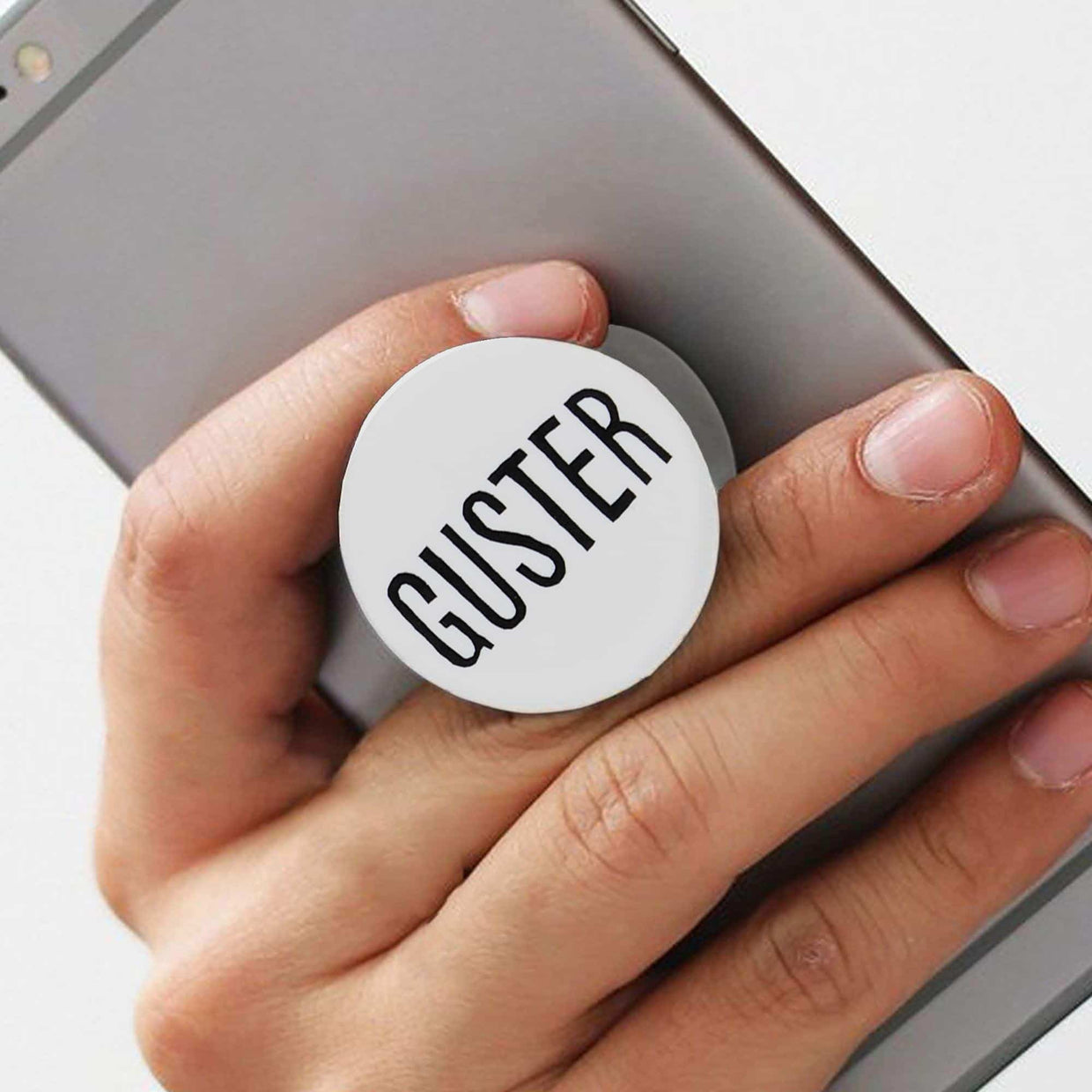 'Guster Text' Pop Socket