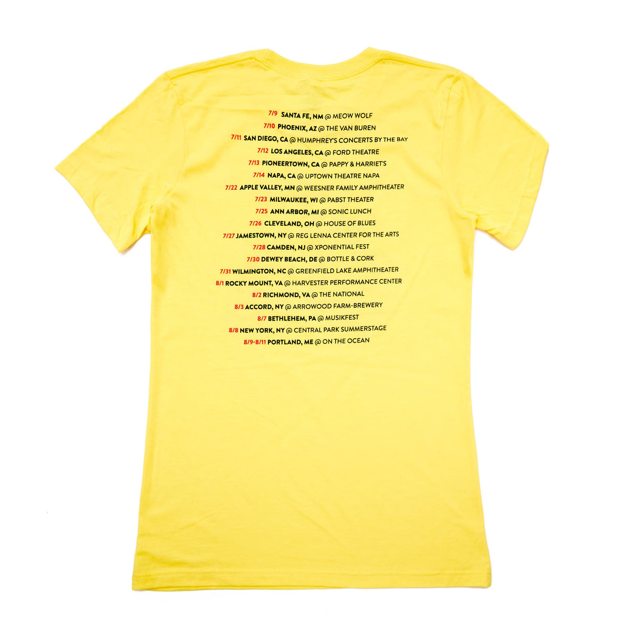 'Summer Tour 2019' Women's T-Shirt