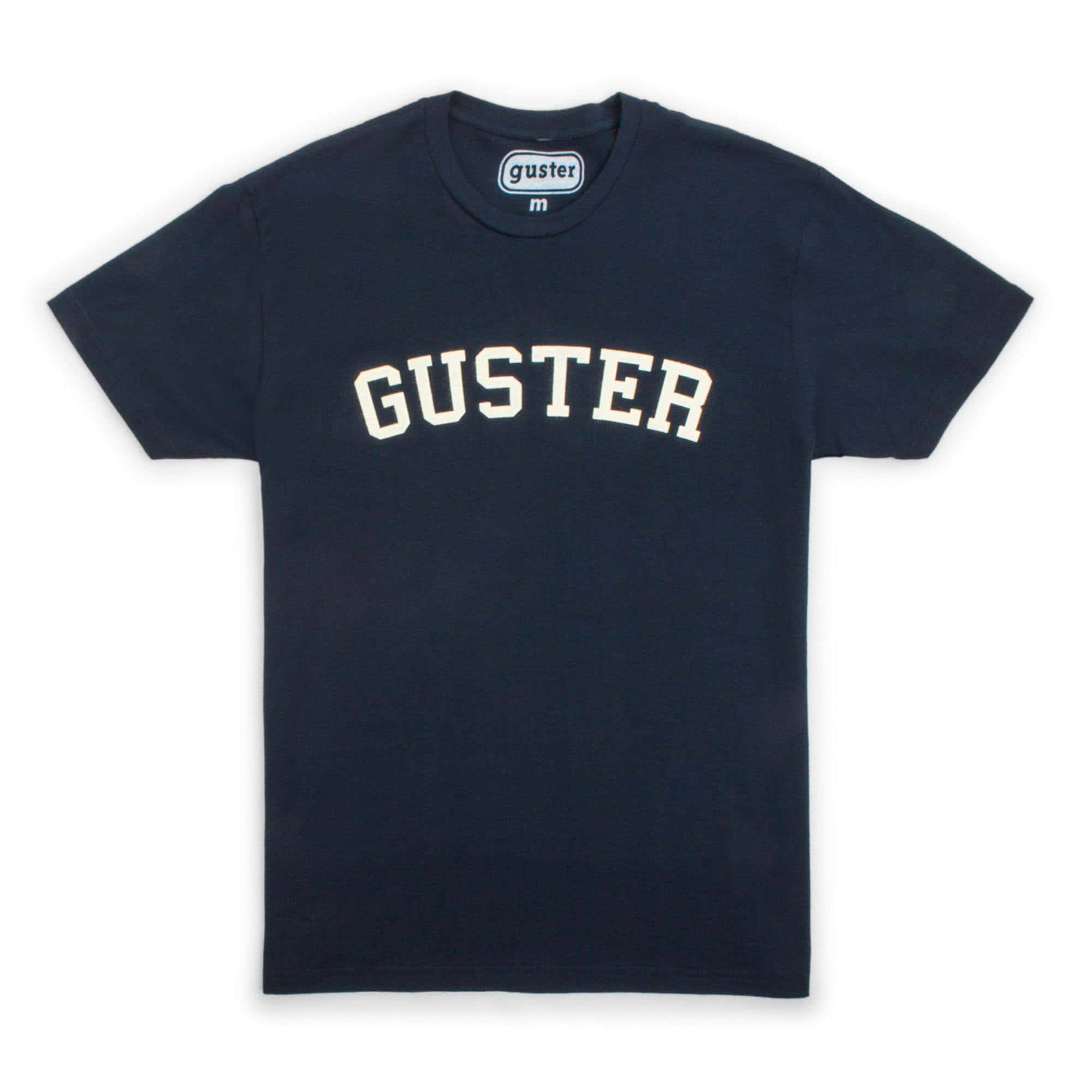 Guster Throwback Felt T-Shirt - Navy