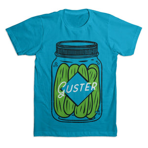 'Pickle Jar' T-Shirt - Turquoise