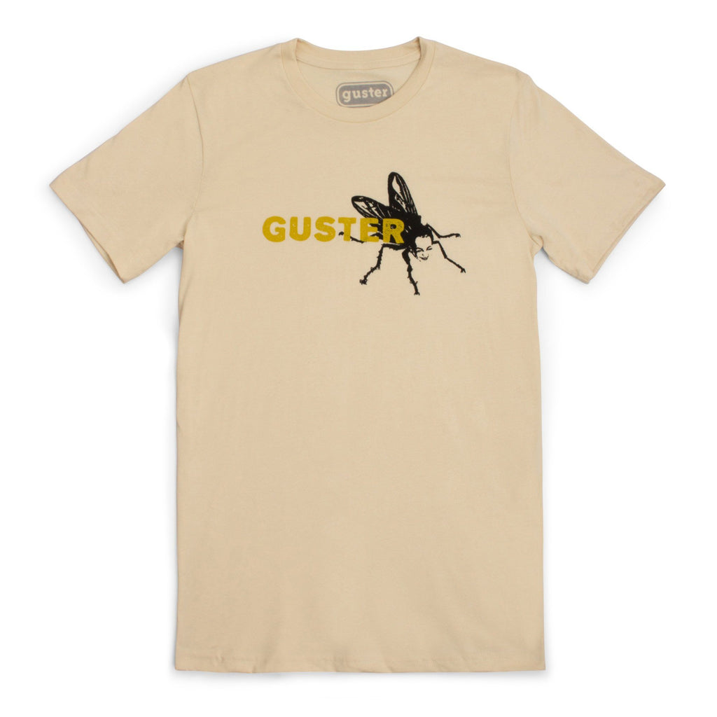 'Goldfly' T-Shirt - Soft Cream