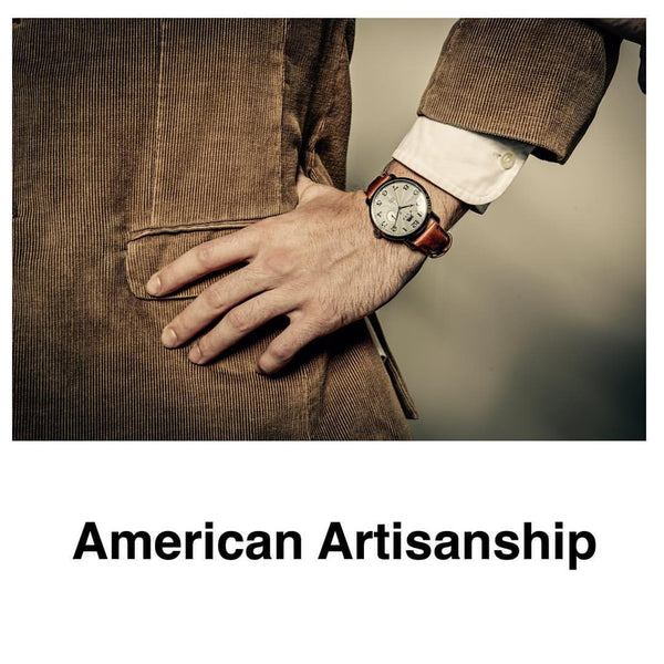 American artisanship is How RAPP Black Makes Watches