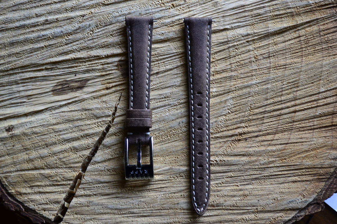 16mm - 892 Standard 58249 Brown Watch Strap