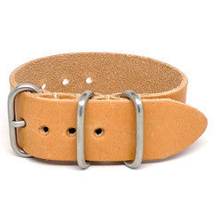 American Made Outdoor Leather Strap - Natural Essex