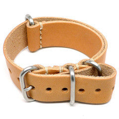 American Made Dual Outdoor Leather Strap - Natural Essex