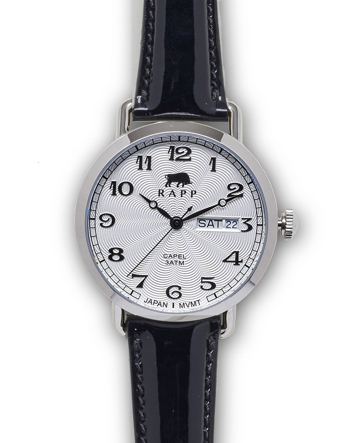 Lady Capel - Stainless White Patent