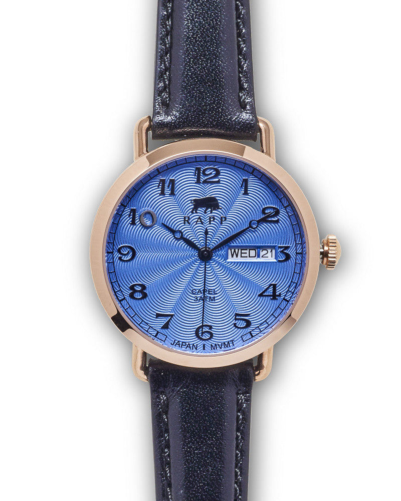 Lady Capel - Rose Gold Blue Standard