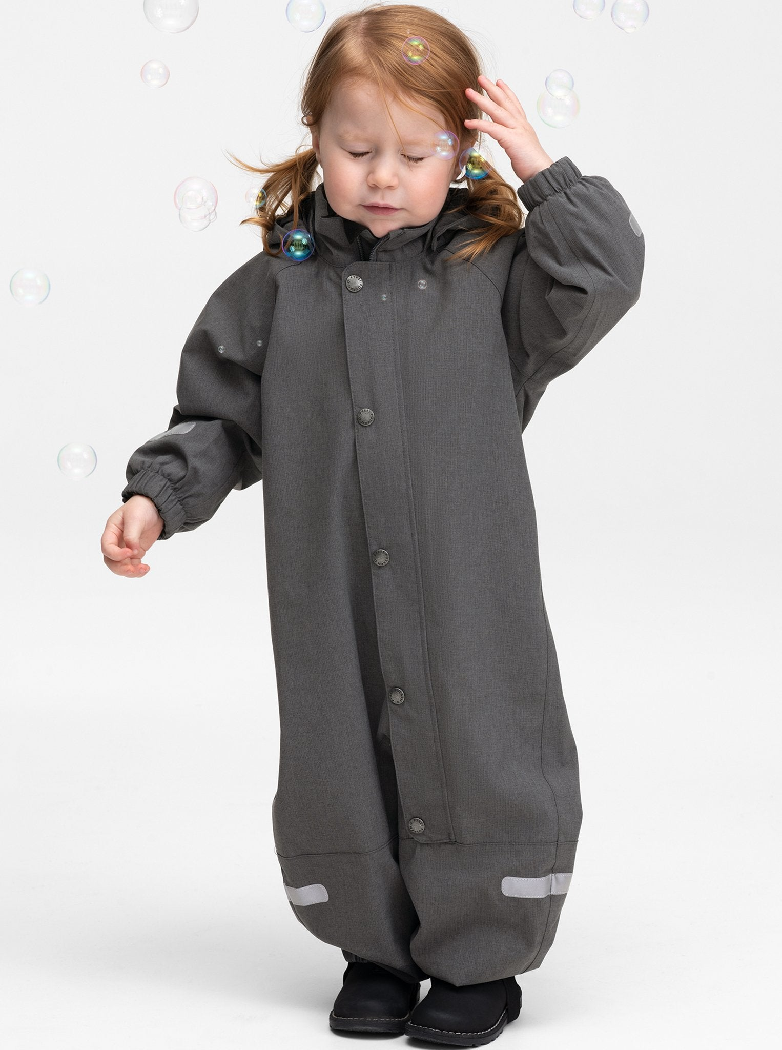Waterproof Shell Kids Overall