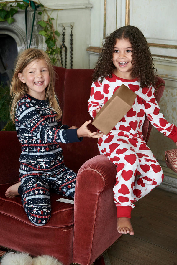 Heart Print Kids Pyjamas