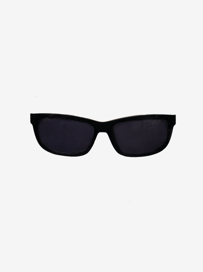 Baby UV Wraparound Sunglasses---Black---Unisex---6m-2y