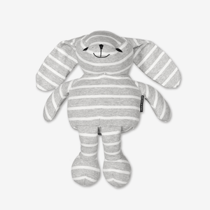 PO.P Stripe Bunny Grey Unisex One Size