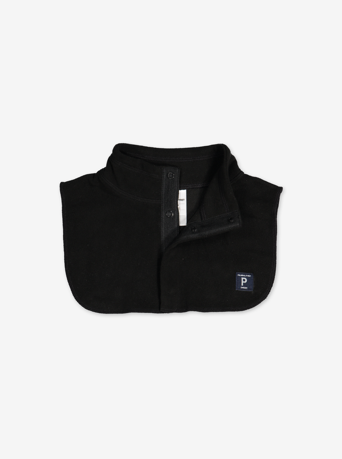 Kids Fleece Neck Warmer---Black---Unisex---4m-12y