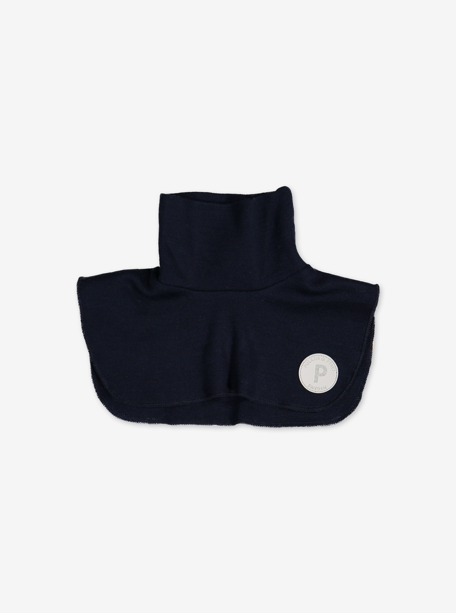 Merino Wool Kids Neck Warmer---Navy---Unisex---2-12y