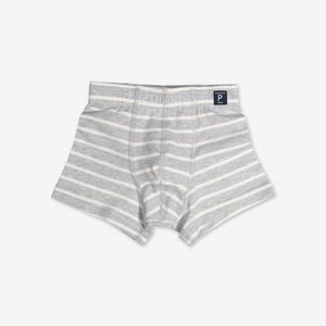 Boys Boxer Shorts Grey Boys 1-12y