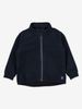 Kids Windproof Fleece Jacket---Navy---Unisex---6m-12y