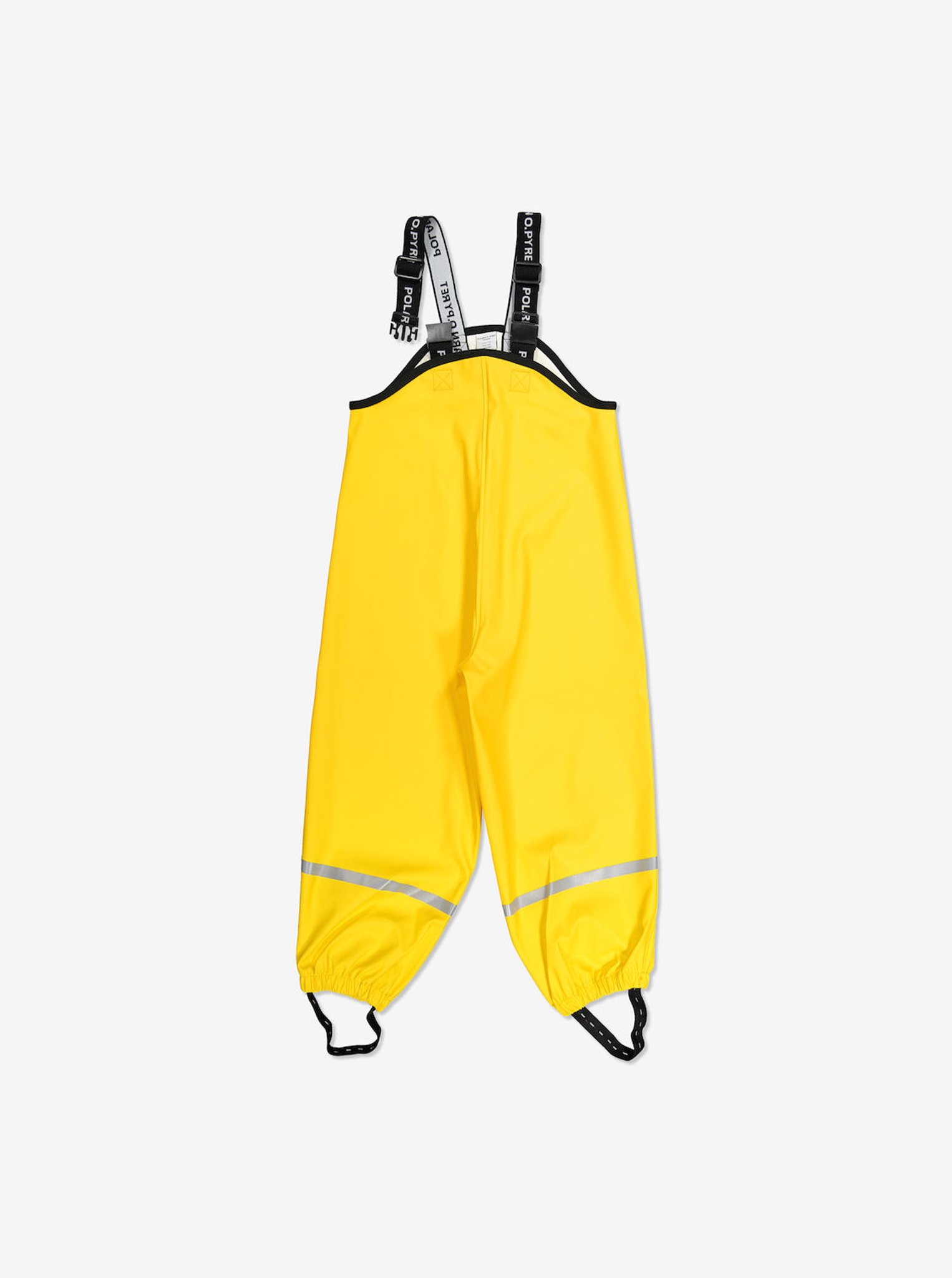 Waterproof Kids Rain Trousers---Yellow---Unisex---6m-8y
