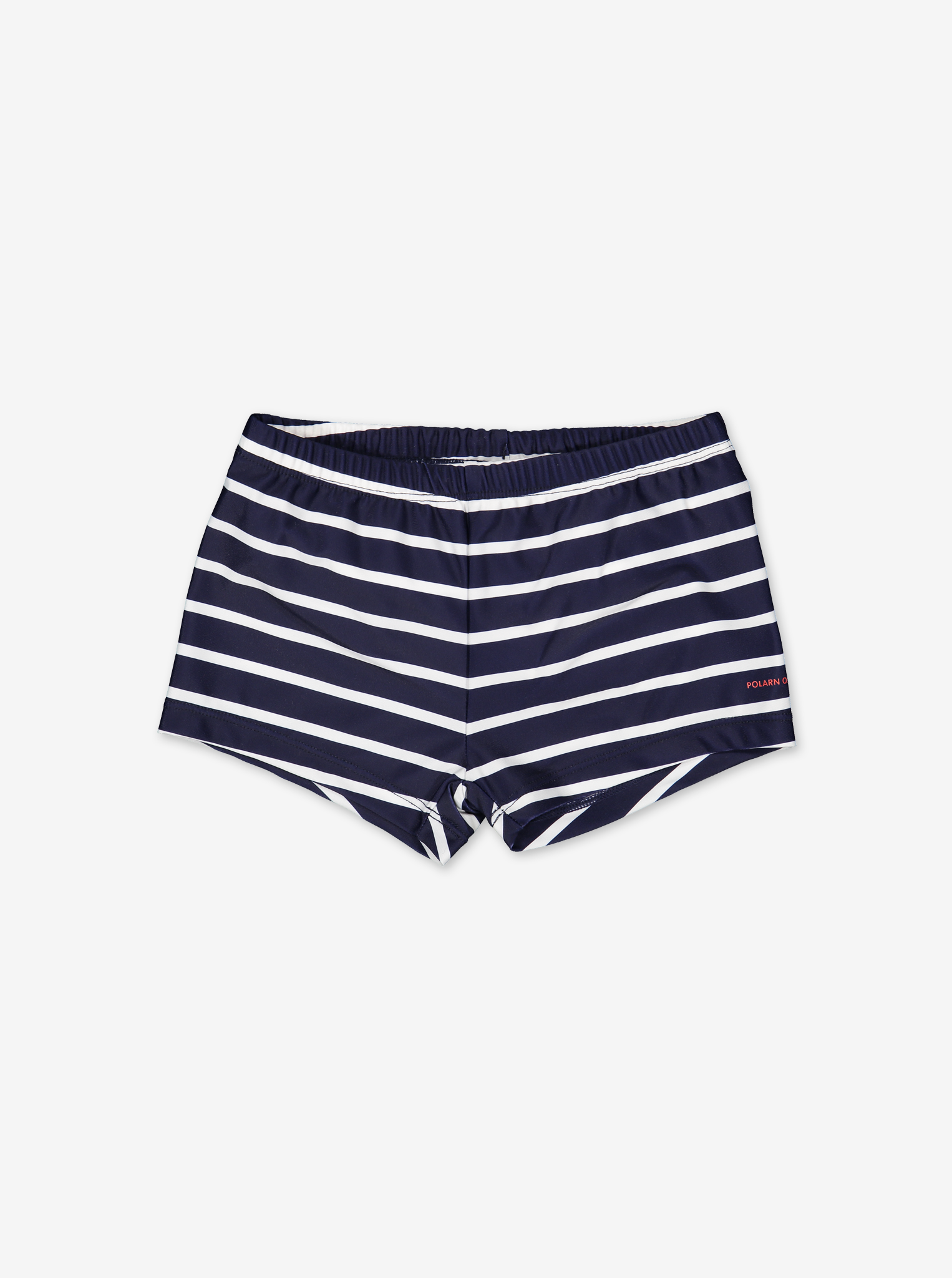 UPF 50 Striped Kids Swim ShortsNavyBoy2m-4y