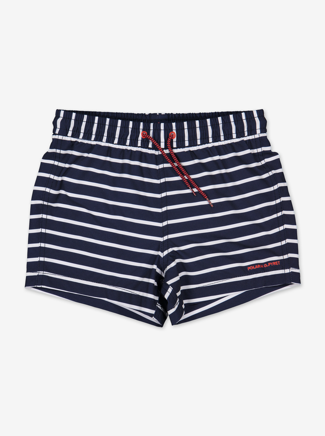 Striped Kids Swim ShortsNavyBoy1-12y