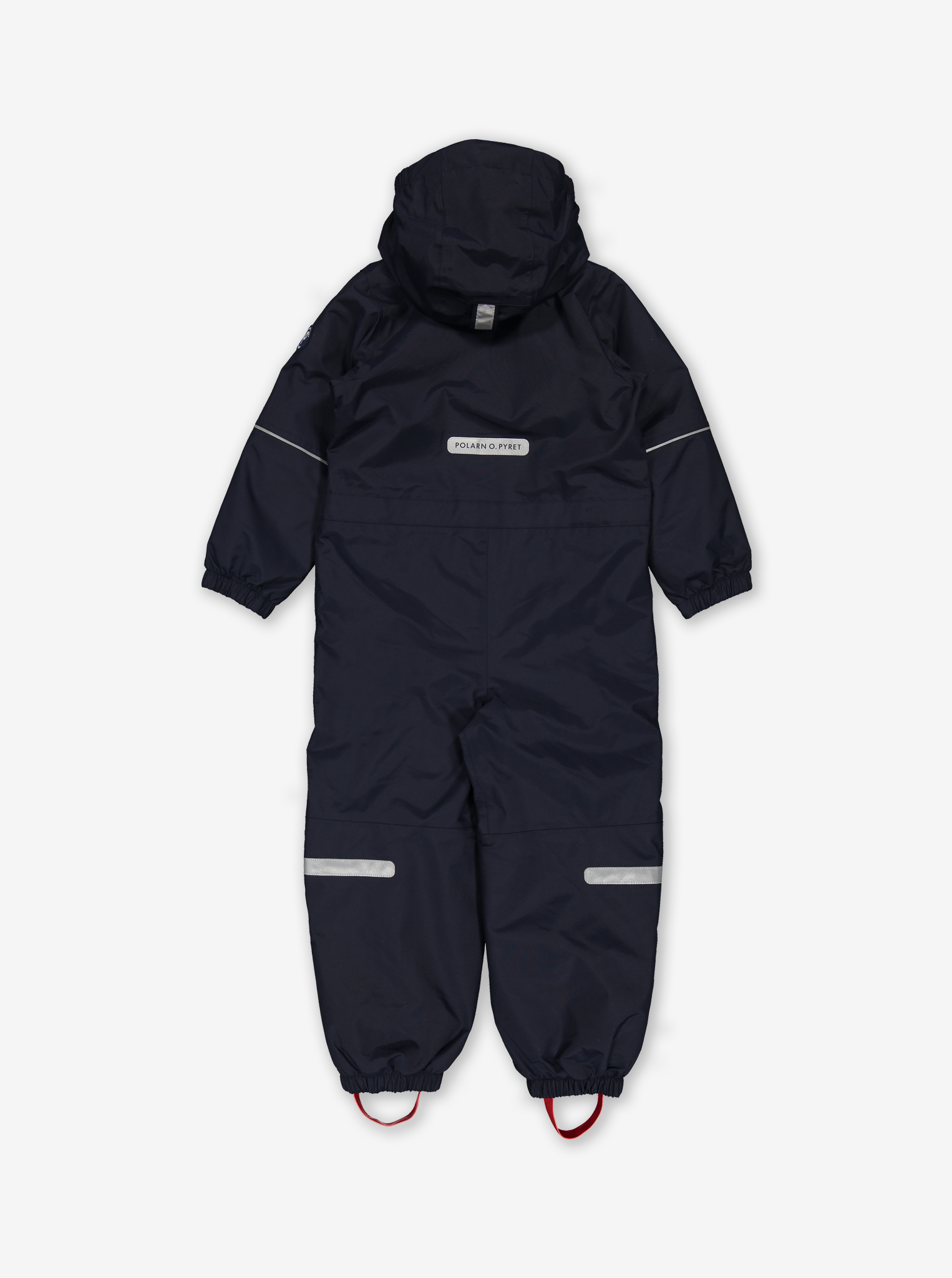 Waterproof Shell Fleece Lined Kids Overall-Unisex-Blue-2-8y