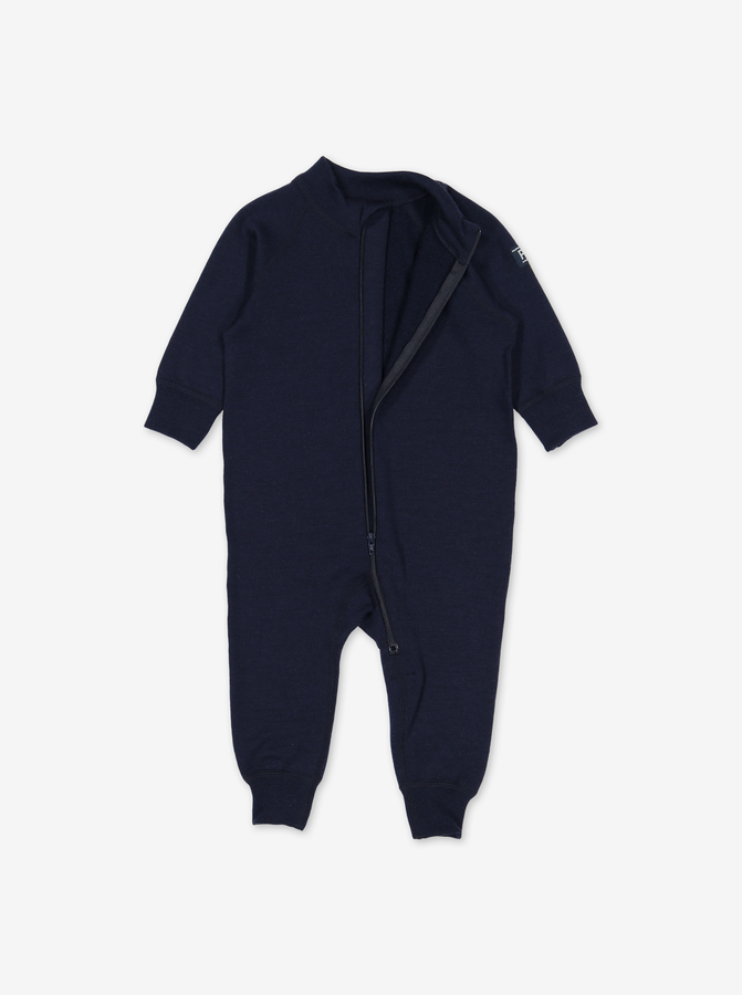 Thermal Merino All-In-OneNavyUnisex1m-6y