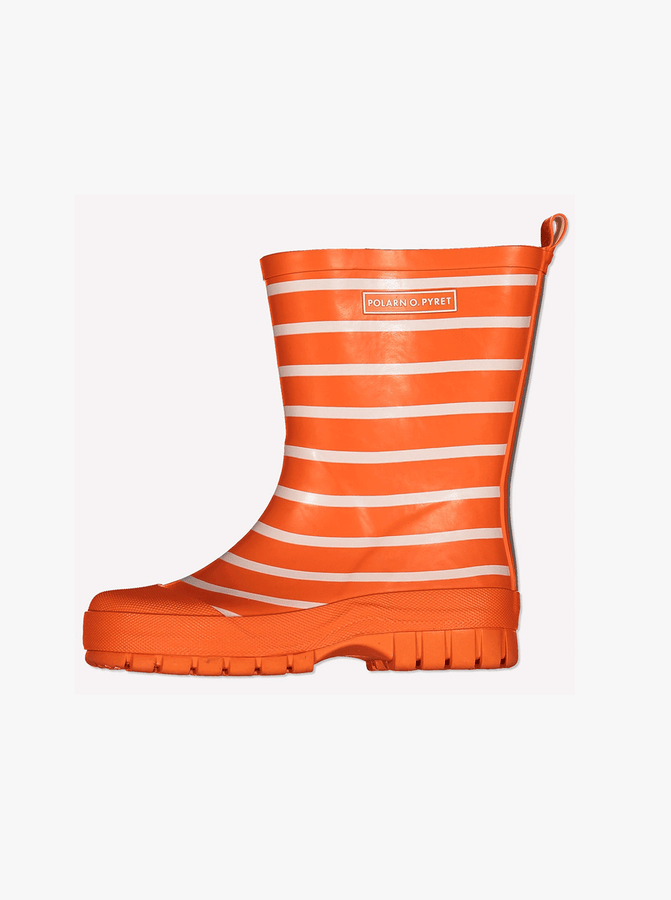 PO.P Stripe Kids Wellies