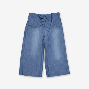 Wide Leg Denim Kids Culottes