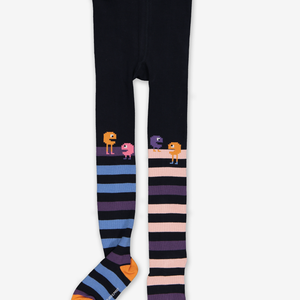 Striped Kids Tights