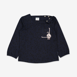 Embroidered Pixel Pal Kids Top