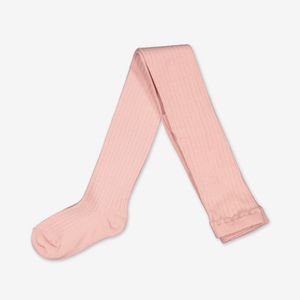 Rib Knit Kids Tights