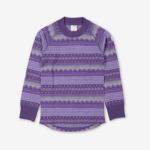 Fairisle Thermal Merino Kids Top