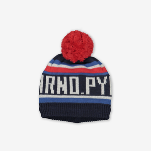 Kids Reflective Bobble Hat