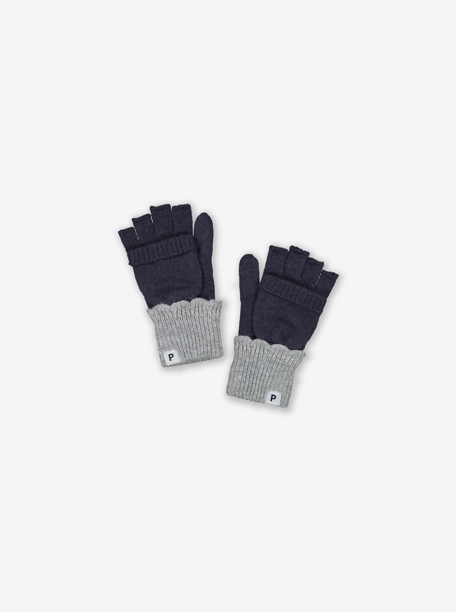 Reflective Flip-Top Kids Gloves