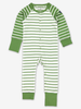 Striped Baby Onesie Pyjamas Pink