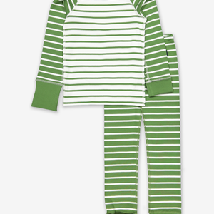 Striped Kids Pyjamas Blue